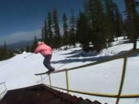 Смотреть онлайн бесплатно Женская лыжня