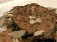 Смотреть онлайн бесплатно Баклажаны с миндалем